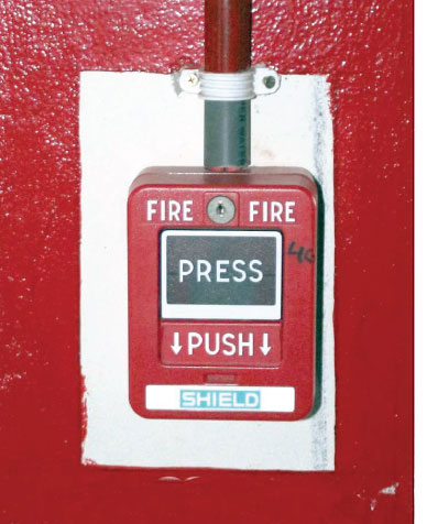 Emergency Fire Button