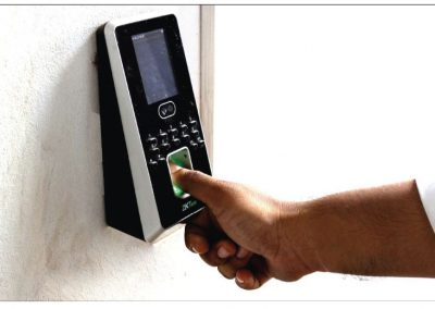 Bio-matric Face and Finger Access Control