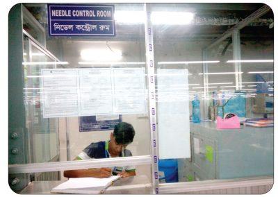 Needle Control Room
